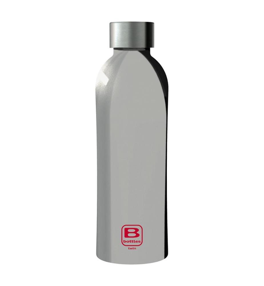 BUGATTI - B bottle silber lux Twin 800 ml doppelwandig / 800 ml