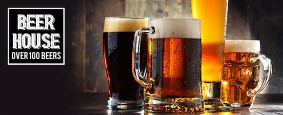 Beer House - over 100 Beers